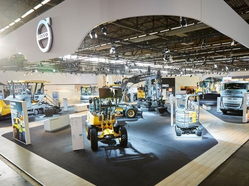 Volvo на Intermat Paris 2018